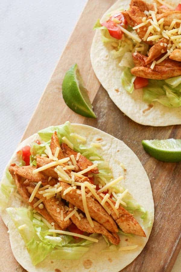 Chicken Tacos - Cook it Real Good