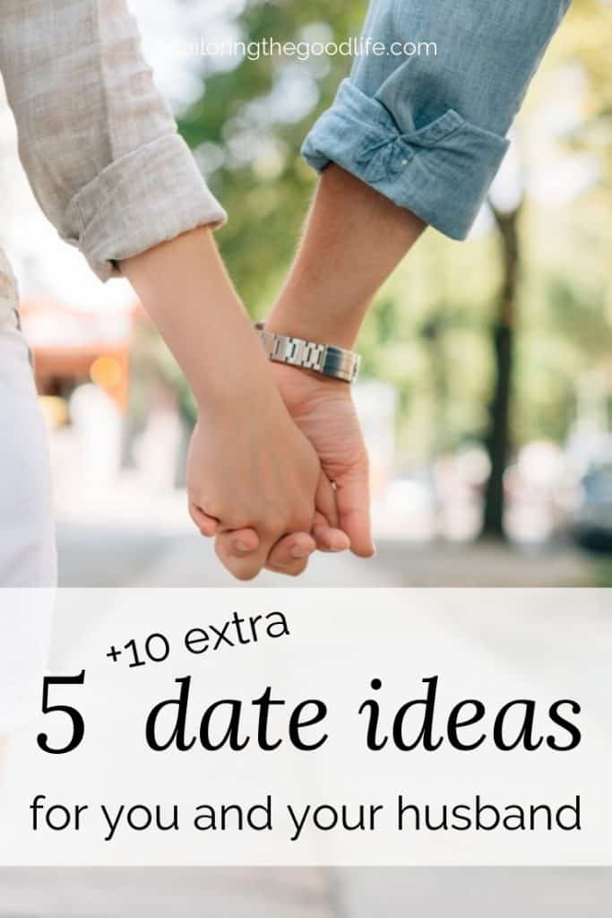 couple holding hands and walking down the street - 5 date ideas for married couples