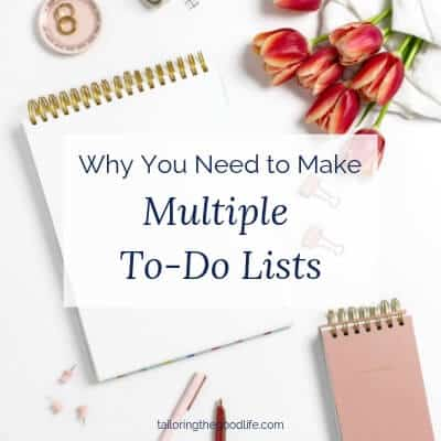 Why You Need to Make Multiple To-Do Lists