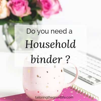 Do You Need a Household Binder?